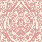 Albany Jodhpur Damask Red Wallpaper