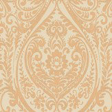 Albany Jodhpur Damask Burnt Orange Wallpaper