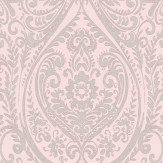 Albany Jodhpur Damask Pale Pink Wallpaper