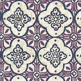 Albany Nirvana Damson Wallpaper