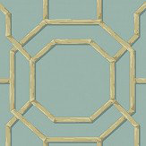 Albany Summer Trellis Turquoise Wallpaper