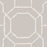 Albany Summer Trellis Grey Wallpaper