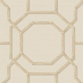Albany Summer Trellis Beige / Natural Wallpaper