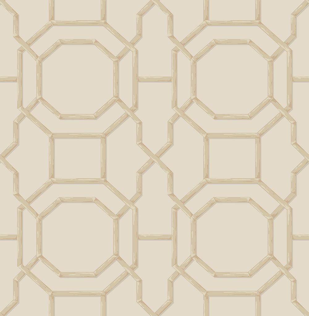 Albany Summer Trellis Beige / Natural Wallpaper - Product code: 21741
