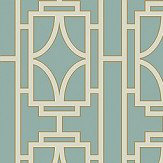 Albany Empire Lattice Turquoise Wallpaper