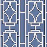 Albany Empire Lattice Sapphire Wallpaper - Product code: 21743
