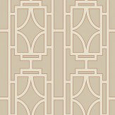 Albany Empire Lattice Spice Wallpaper - Product code: 21770