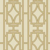 Albany Empire Lattice Gold Wallpaper - Product code: 21771