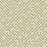 Albany Pavilion Trellis Cream / Gold Wallpaper