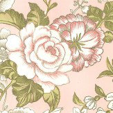 Albany Raipur Floral Pink Wallpaper - Product code: SZ001850