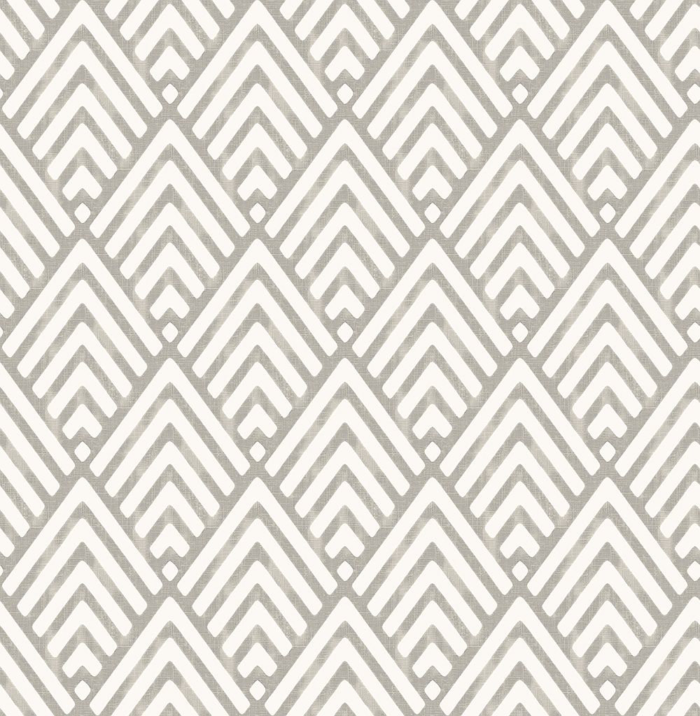 Albany Vertex Taupe Wallpaper main image