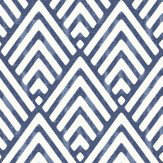 Albany Vertex Indigo Wallpaper