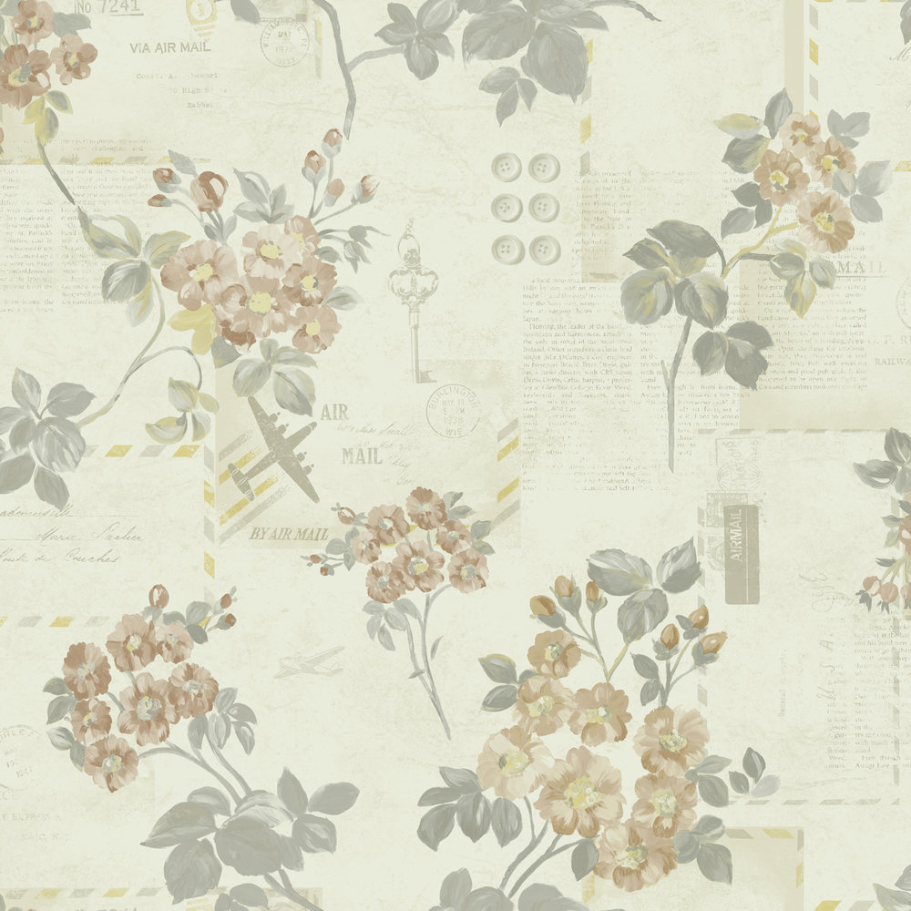 Albany Athene Neutral Wallpaper - Product code: 98330