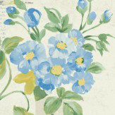 Albany Athene Blue Wallpaper - Product code: 98333