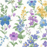 Albany Daphne Blue Wallpaper - Product code: 98130