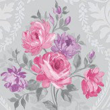 Albany Brigitte Fuchsia Wallpaper