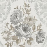 Albany Brigitte Grey Wallpaper - Product code: 98153