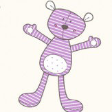 Galerie Teddies Purple Wallpaper