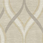 Albany Frequency Taupe Wallpaper