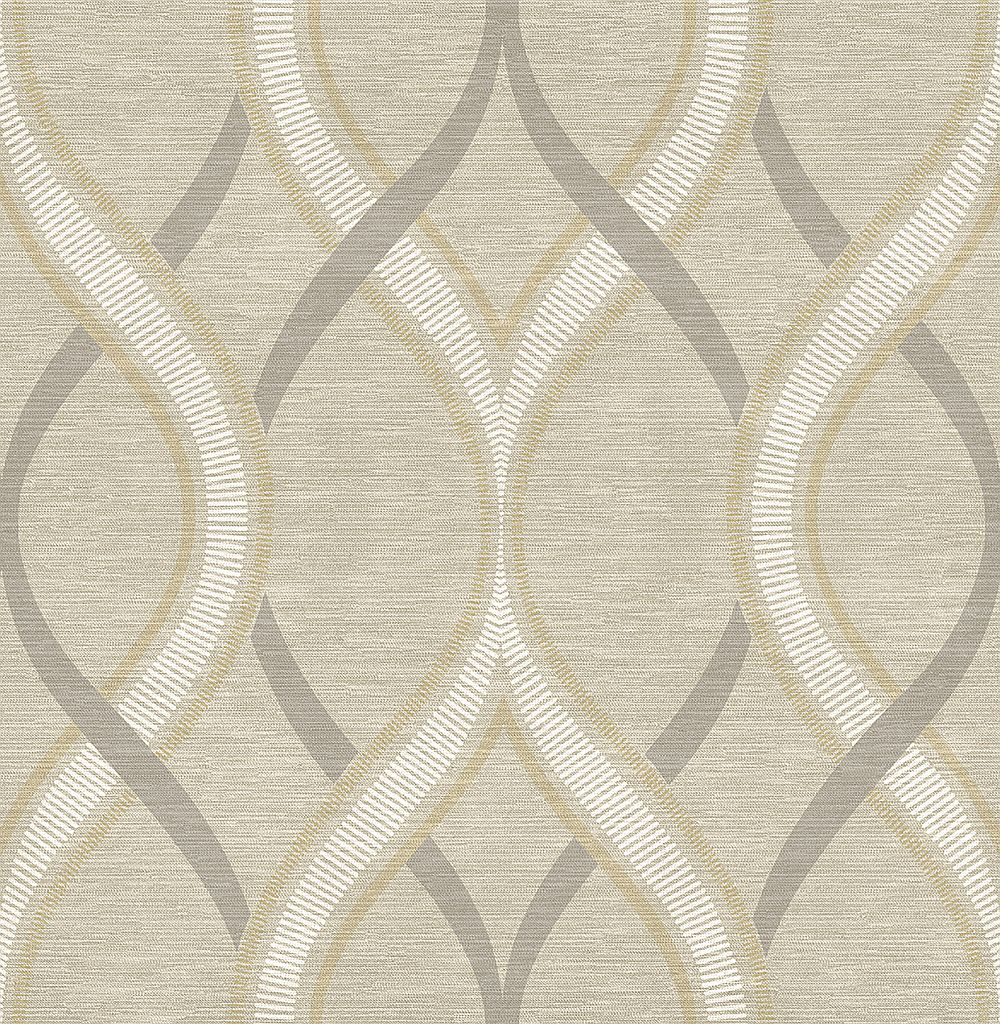 Albany Frequency Taupe Wallpaper - Product code: 21849