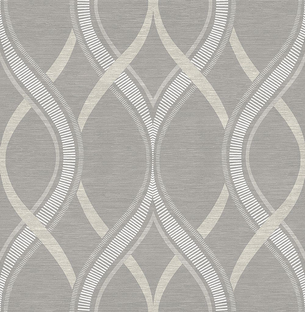 Albany Frequency Grey Wallpaper - Product code: 21850