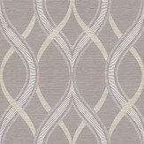 Albany Frequency Dusty Plum Wallpaper - Product code: 21852