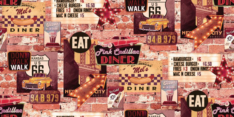 Arthouse Wallpapers American Diner, 889600