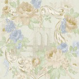 Albany Kingston Linen Blue Wallpaper - Product code: 98182