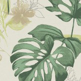 Albany Panama Dark Green Wallpaper