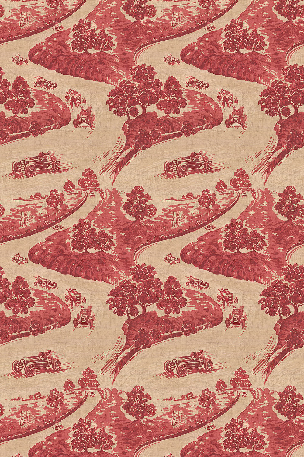 Brewers Home Goodwood Red Fabric - Product code: BF20001