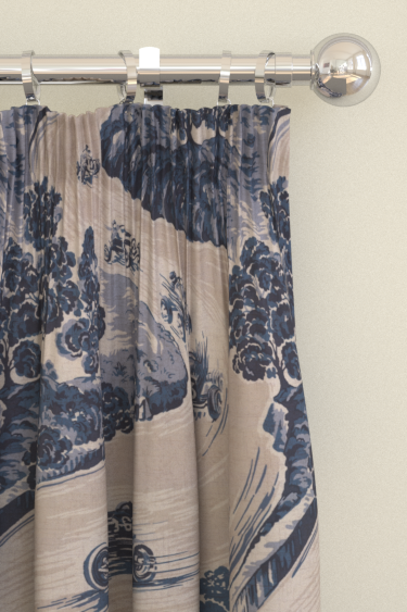Brewers Home Goodwood Blue Curtains - Product code: BF20002