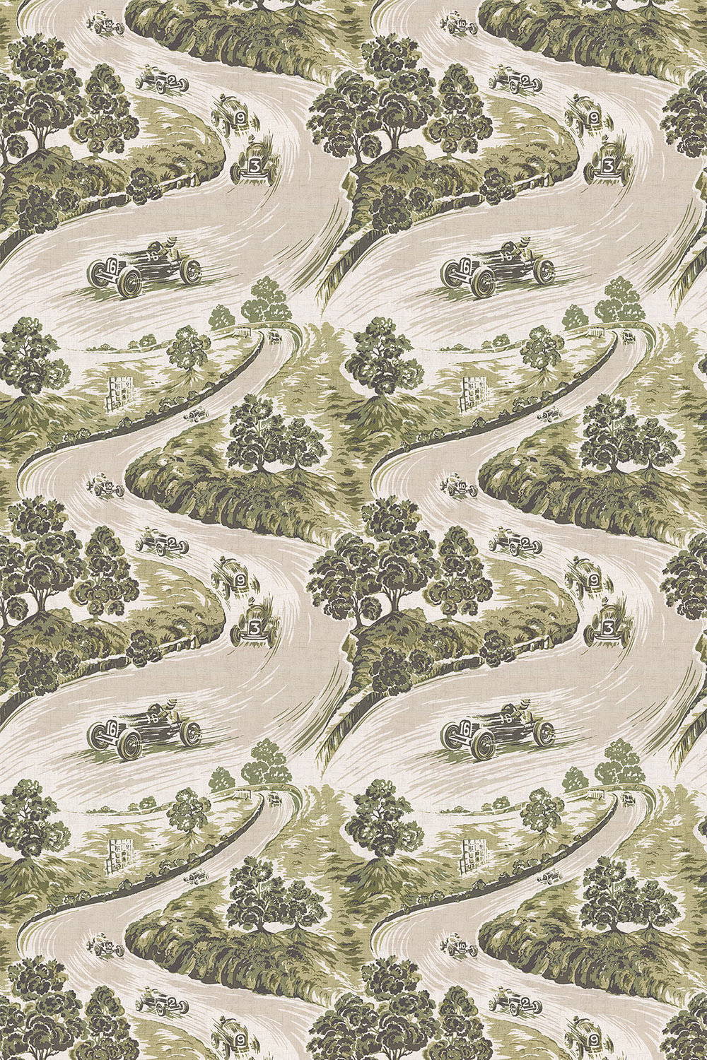 Brewers Home Goodwood Green Fabric - Product code: BF20004