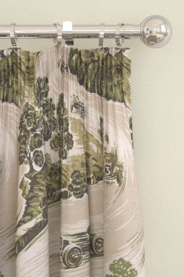 Brewers Home Goodwood Green Curtains - Product code: BF20004