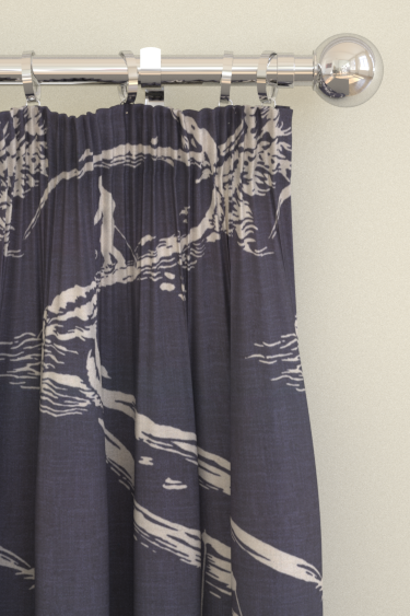 Brewers Home Aviemore Navy Curtains - Product code: BF20006