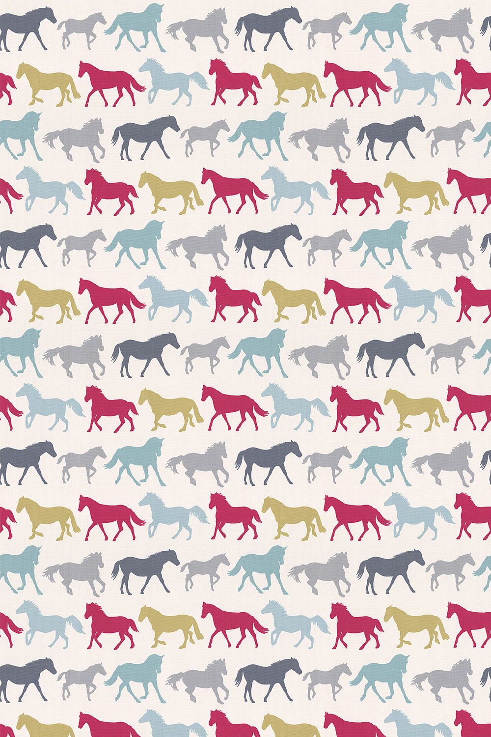 Stampede Fabric - Multi - by Studio G