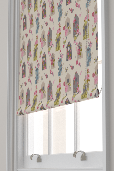 Birdhouse curtains by Studio G - Natural : Wallpaper Direct