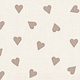 Studio G Hearts Taupe Fabric - Product code: ZF0371/01