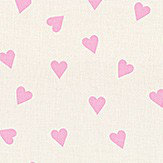 Studio G Hearts Pink Fabric - Product code: ZF0371/02