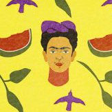 Coordonne Like an Artist Kahlo Yellow Mural