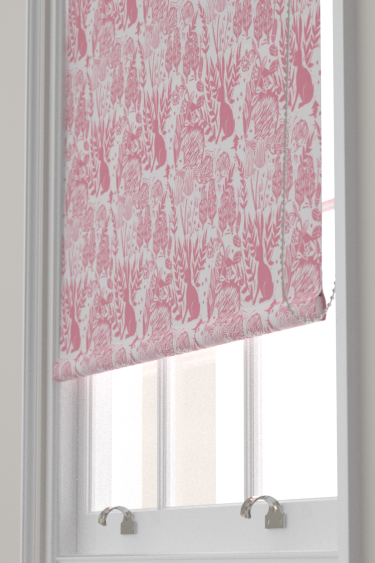 Clarke & Clarke Hedgerow Pink Blind - Product code: F0673/01