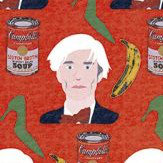 Coordonne Like an Artist Warhol Red Mural - Product code: 4500023N