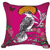 Arthouse Mystical Forest Cushion Pink