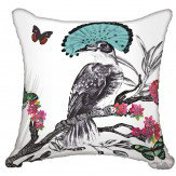 Arthouse Mystical Forest Cushion White