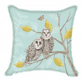 Arthouse Night Owl Cushion Duck Egg