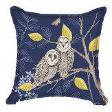 Arthouse Night Owl Cushion Blue