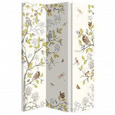 Arthouse Night Owl Room Divider White