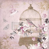 Arthouse Enchanted Birdcage Metallic Art