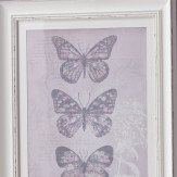 Arthouse Enchanted Butterflies Framed Print Lilac  Art