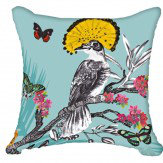 Arthouse Mystical Forest Cushion Blue