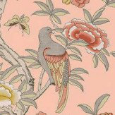 Thibaut Giselle Pale Pink Wallpaper - Product code: T14227